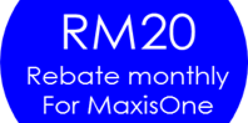 maxis fibre promotion – rm20 off for maxisone