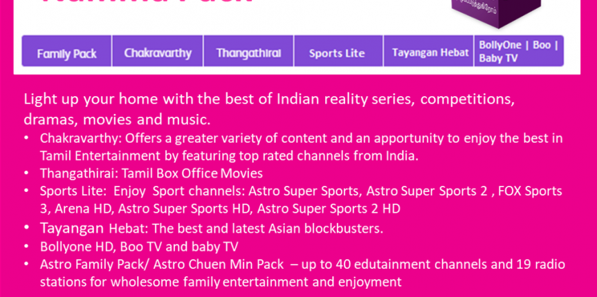 Astro Package Namma Pack