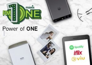 Maxis broadband RM1 promotion