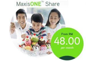 MaxisOne Share